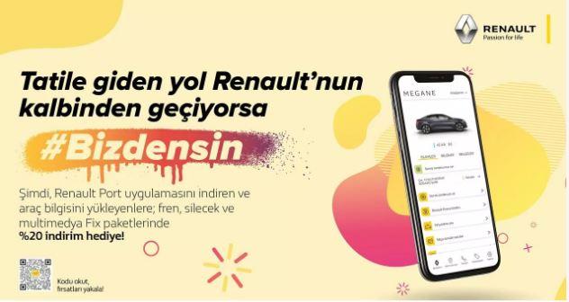 Tatile giden yol Renault'nun kalbinden geçiyorsa