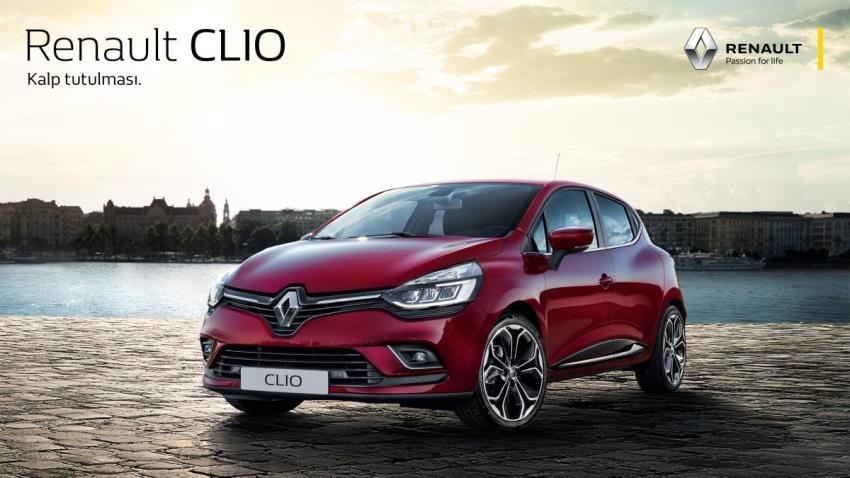 Hurda teşvikli CLIO HB 74.900 TL'den başlayan fiyatlar ve %0'dan başlayan faiz fırsatıyla