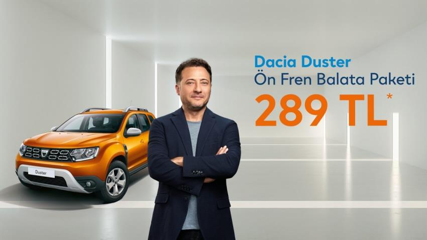 Dacia Duster Ön Fren Balata Paketi 289 TL*