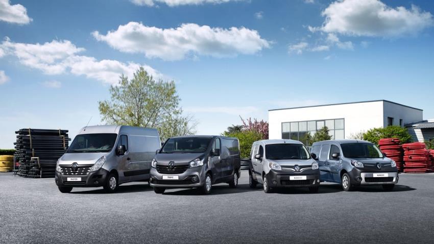 Tüm RENAULT hafif ticari araçlara özel 50.000 TL 12 ay %0 faiz fırsatı ve 3.000 TL takas indirimi
